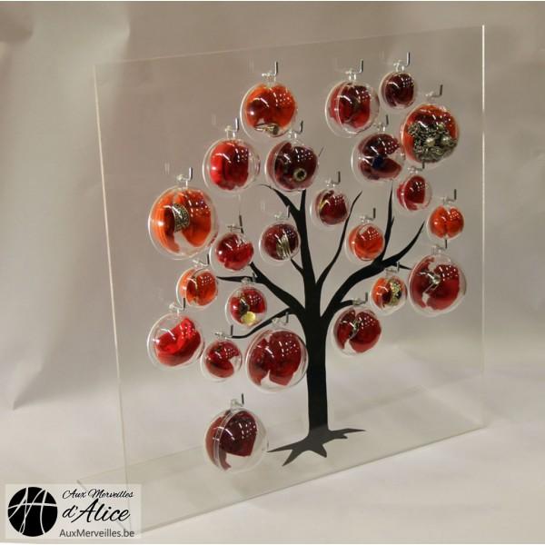 achat porte bijoux bubble tree poser porte bagues. Black Bedroom Furniture Sets. Home Design Ideas