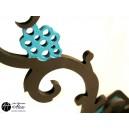 Porte-Boucles d'oreilles: Support Floral / Porte-Bijoux
