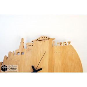 Horloge en bois sur mesure