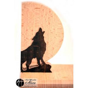 Serre-Livres Loup