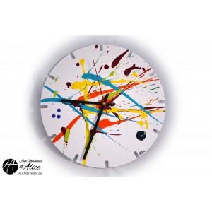 Horloge Artclock : Splash