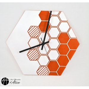 Clock: HoneyComb