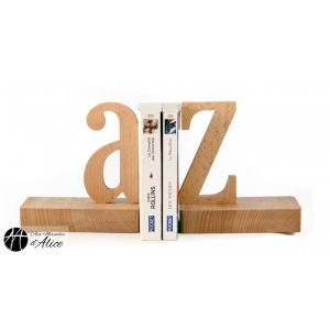 A-Z bookend (pair of) - inside