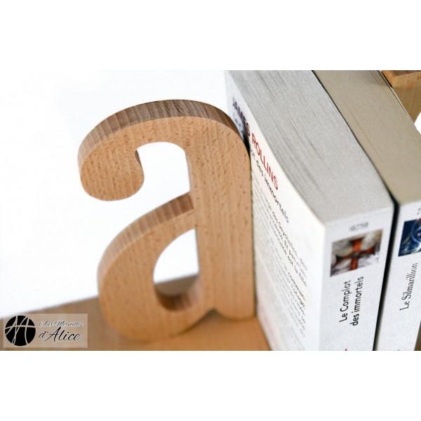 achat serre livres a z in paire serre livres artisanaux. Black Bedroom Furniture Sets. Home Design Ideas