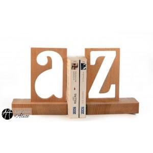 Serre-Livres A-Z out (paire)