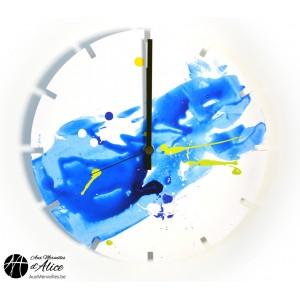Clock Artclock: Blue Sky