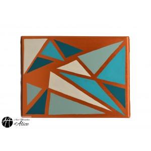 Copper Mosaic Triangle