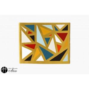 Golden Mosaic Triangles