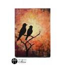 Peintures: Tableau Resting Birds / Objets Originaux