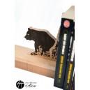Bookends: Bear / Home decor